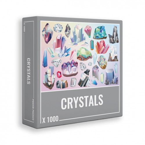 JIGSAW CRYSTALS 1000pcs.
