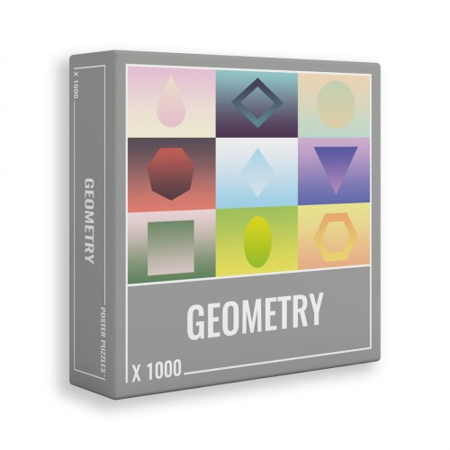 JIGSAW GEOMETRY 1000pcs.