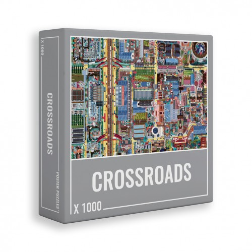 JIGSAW CROSSROADS 1000pcs.