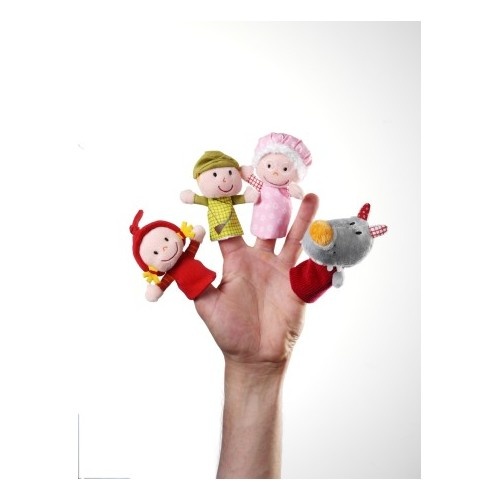 PUPPETS LITLLE RED RIDING HOOD FINGER