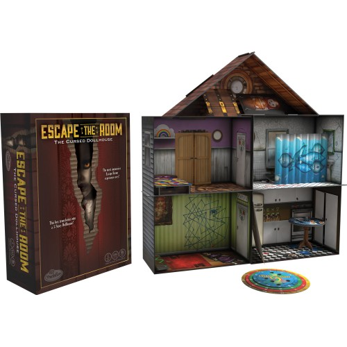 SCAPE THE ROOM: THE CURSED  DOLLHOUSE