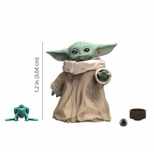 THE CHILD baby yodaGROGU)3,4cm.(StarWars Black Series)