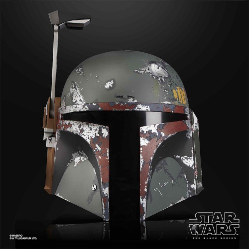 BOBA FETT CASCO ELECTRONICOREPLICA ESCALA 1:1 BLACK SERIES STAR WARS