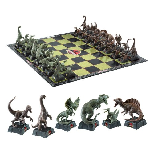 CHESS FROM JURASSIC PARK