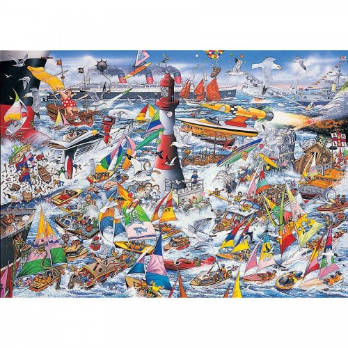 I LOVE BARCOS 1000 pcs.
