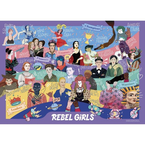 CHICAS REBELDES 500 pcs.