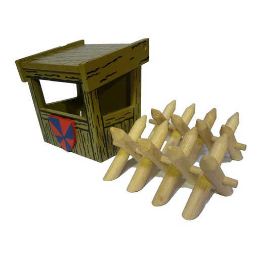 WATCH TOWER WITH SPIKE DEFENCES