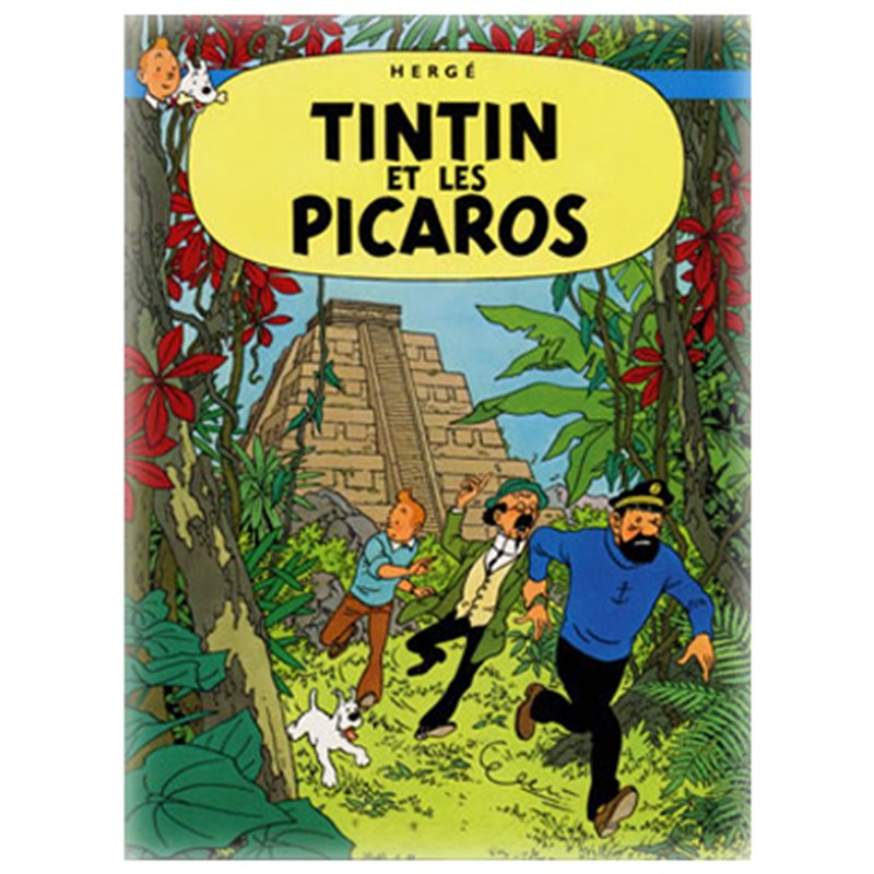 POSTER TINTIN AND THE PICAROS